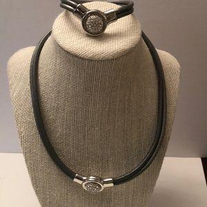 Vintage 2 piece  necklace & bracelet set